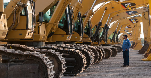 Consider your selling method carefully when trying to sell heavy equipment