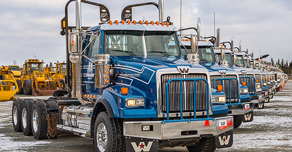Western Star truck tractor at Ritchie Bros. Prince George auction in November 2015