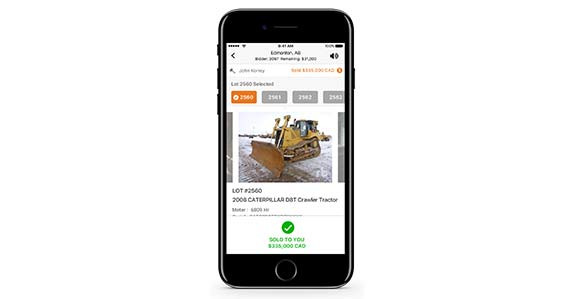 Ritchie Bros. introduces a mobile app for customers to use anywhere, anytime