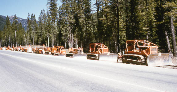 Equipment lined up at historic Ritchie Bros. auction in Radium Hot Springs