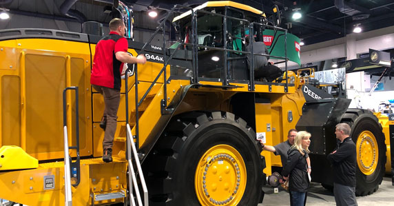 John Deere 944K Wheel Loader at Conexpo