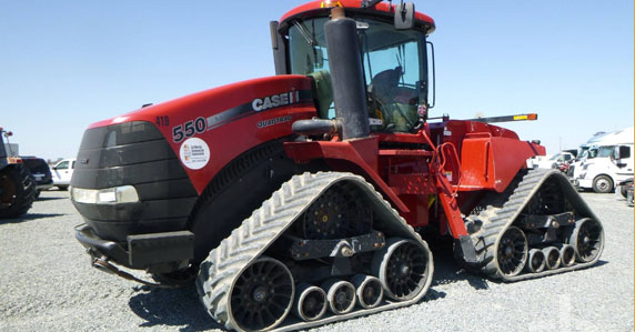 2012 Case IH 4WD tractor